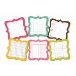 Chic Tags - Delightful Paper Tags - Spring is in the Air Artisans - Set of 6