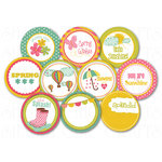 Chic Tags - Delightful Paper Tags - Spring is in the Air icons - Set of 10