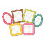 Chic Tags - Delightful Paper Tags - Spring Mini Woodgrain Frames - Set of 6