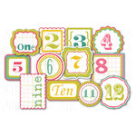 Chic Tags - Delightful Paper Tags - Spring Numbers - Set of 12