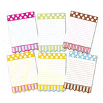 Chic Tags - Delightful Paper Tags - Spring Polkadots and Stripes - Set of 6