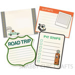 Chic Tags - Delightful Paper Tags - Vacation Are We There Yet - Set of 4