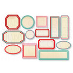 Chic Tags - Delightful Paper Tags - Valentine Labels - Set of 13