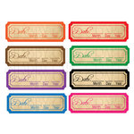 Chic Tags - Delightful Paper Tags - Vintage Date Tabs - Set of 8
