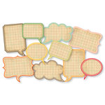 Chic Tags - Delightful Paper Tags - Vintage Speech Bubbles - Set of 10