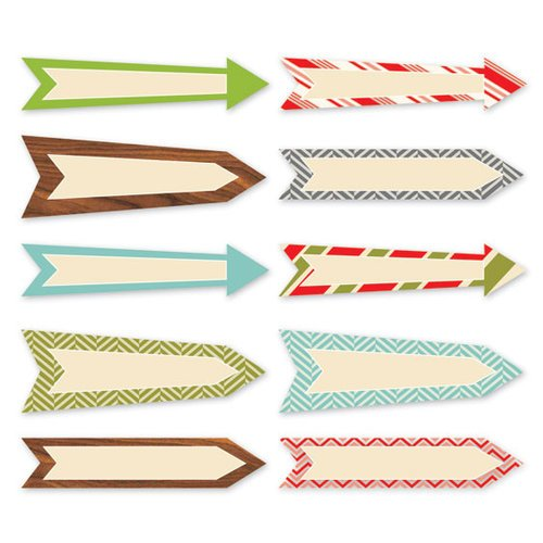 Chic Tags - Christmas - 25 Days Arrows - Set of 10