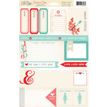 Chic Tags - Delightful Paper Tags - Valentine Collection - Love Note Snip 'Em Tags