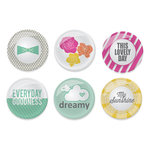 Chic Tags - Cloud 9 Collection - Flair Buttons