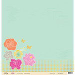 Chic Tags - Cloud 9 Collection - 12 x 12 Paper with Foil Accents - Goodness