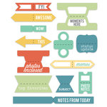 Chic Tags - Lets Go Collection - Tabs