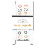 Doodlebug Designs - Accent Organdy Ribbon - Halloween Collection, CLEARANCE