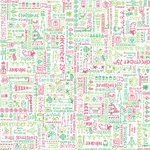 Doodlebug Design - Patterned Paper - Christmas Collection - Jolly Doodles