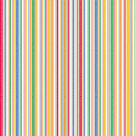 Doodlebug Design - Patterned Paper - Primary School Collection - Loopy Stripes