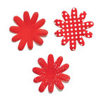 Doodlebug Designs - Silk Flowers - Ladybug, CLEARANCE