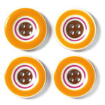 Doodlebug Designs - Striped Buttons - Fall Collection, CLEARANCE