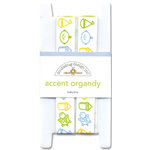 Doodlebug Design - Baby Boy Collection - Accent Organdy Ribbon