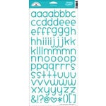 Doodlebug Design - Alphabet Cardstock Stickers - Simply Sweet - Swimming Pool