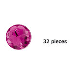 Doodlebug Design - Jewels Adhesive Rhinestones - Bubblegum, CLEARANCE
