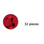 Doodlebug Design - Jewels Adhesive Rhinestones - Ladybug, CLEARANCE