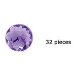 Doodlebug Design - Jewels Adhesive Rhinestones - Lilac, CLEARANCE