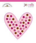 Doodlebug Designs - Love Spell Valentine's Day Collection - Jewels - Love Assortment