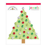 Doodlebug Designs - Jewel Assortments - Christmas Assortment, CLEARANCE