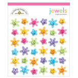 Doodlebug Designs - Jewel Assortments - Bright Assortment, CLEARANCE