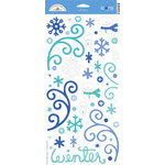Doodlebug Design - Cold Spell Winter Collection - Cardstock Stickers - Cold Spell