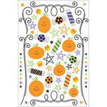 Doodlebug Designs - Halloween Collection - Trick or Treat Rub-ons, CLEARANCE