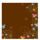 Doodlebug Design - Teen Girl Collection - 12x12 Accent Paper - Flutterby