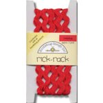 Doodlebug Design Cotton Rick Rack - Ladybug
