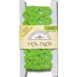 Doodlebug Design Cotton Rick Rack - Limeade