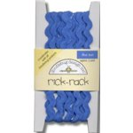 Doodlebug Design Cotton Rick Rack - Blue Jean