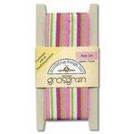 Doodlebug Design Striped Grosgrain Ribbon - Baby Girl, CLEARANCE