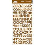 Doodlebug Designs - Alphabet Cardstock Stickers - Hopscotch Font - Bon Bon , CLEARANCE