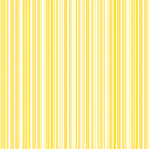 Doodlebug Design - 12x12 Accent Paper - Bumblebee Boutique Stripe