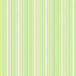 Doodlebug Design - 12x12 Accent Paper - Limeade Boutique Stripe