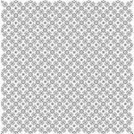 Doodlebug Design - 12x12 Accent Paper - Lily White La Fleur, CLEARANCE