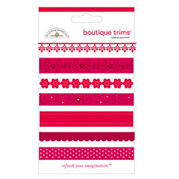 Doodlebug Designs - Boutique Trims - Assorted Ribbon - Ladybug