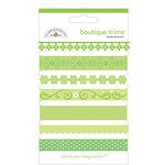 Doodlebug Designs - Boutique Trims - Assorted Ribbon - Limeade