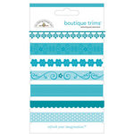Doodlebug Designs - Boutique Trims - Assorted Ribbon - Swimming Pool