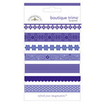 Doodlebug Designs - Boutique Trims - Assorted Ribbon - Lilac, CLEARANCE