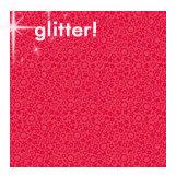 Doodlebug Designs - Sugar Coated Cardstock - 12x12 Spot Glittered Cardstock - Ladybug Daydream