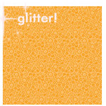 Doodlebug Designs - Sugar Coated Cardstock - 12x12 Spot Glittered Cardstock - Tangerine Daydream, CLEARANCE