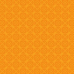 Doodlebug Designs - 12x12 Crushed Velvet Cardstock - Spot Flocked - Tangerine Chenille, CLEARANCE