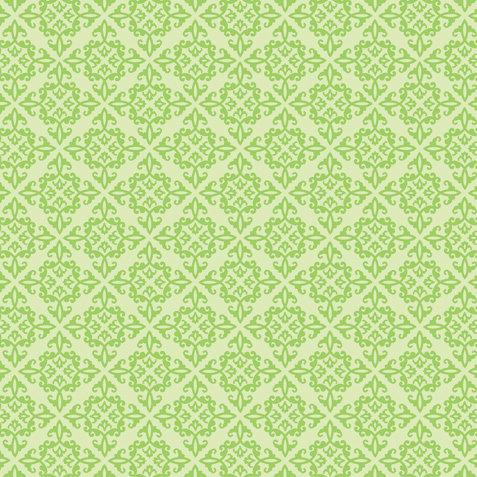 Doodlebug Design - 12x12 Crushed Velvet Cardstock - Spot Flocked - Limeade Chenille, CLEARANCE