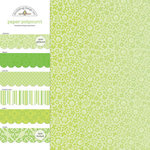 Doodlebug Design - Potpourri - 12 x 12 Paper Assortment - Limeade