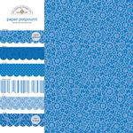 Doodlebug Design - Potpourri - 12 x 12 Paper Assortment - Blue Jean