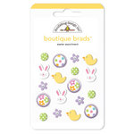 Doodlebug Design - Boutique Brads - Assorted Brads - Easter, CLEARANCE