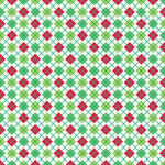 Doodlebug Design - Merry and Bright Collection - Christmas - 12 x 12 Paper - Merry Argyle